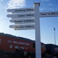 First direct London-China train completes 12,000-km run