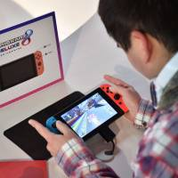 Nintendo eyes sale of 10 million Switch consoles in year to March