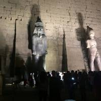 Egypt unveils giant restored statue of Ramses II