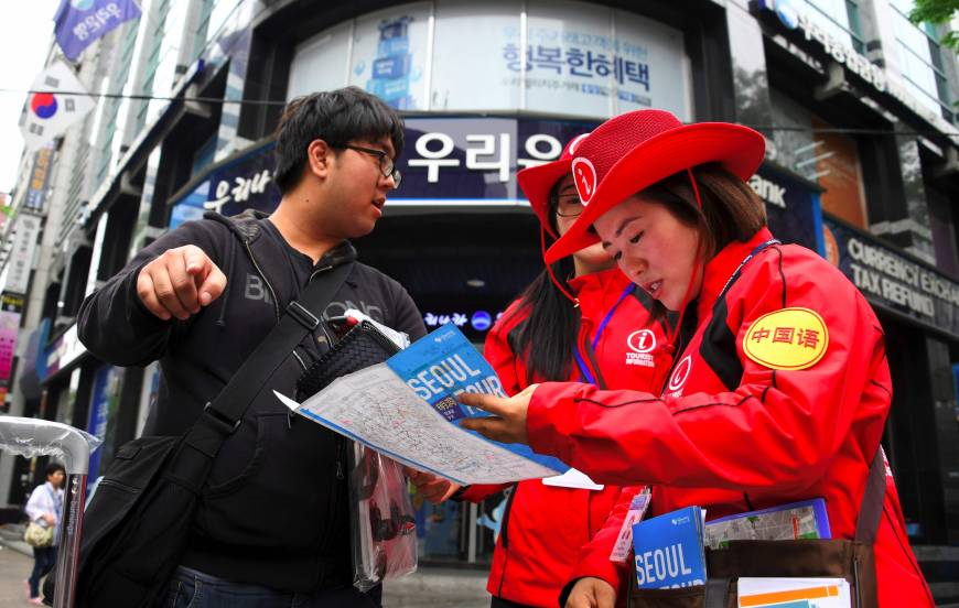 South Korea tourist numbers plummet in China boycott