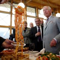 Prince Charles visits Italy quake 'red zone' to meet survivors, first responders