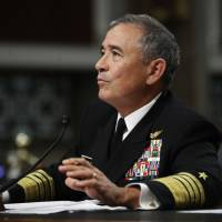 U.S. admiral says North Korea crisis is at its worst point