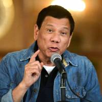 Duterte unfazed by ICC murder complaint, vows no let-up in war on drugs