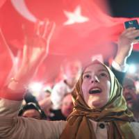 Erdogan declares 'historic decision' poll win as foes cry fraud