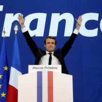 Macron's advance in French runoff stalls populist wave in Europe