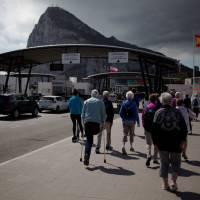 Britain will wait for final EU guidelines on Gibraltar, May's spokesman says