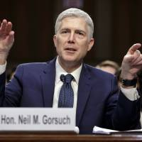 Contentious top court nominee votes date back to George Washington's pick