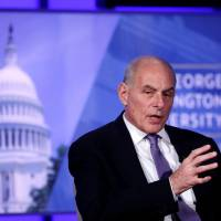 Kelly vows border pot crackdown, tells lawmakers critical of immigration policy to change laws or shut up
