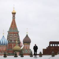 The mausoleum of Vladimir Lenin (right) is situated near St. Basil's Cathedral on Red Square in central Moscow. | REUTERS