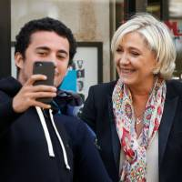 Le Pen runoff campaign targets far left and right, will bill Macron as establishment, globalist