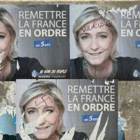 Far-right candidate Le Pen bedeviled by France's Nazi history