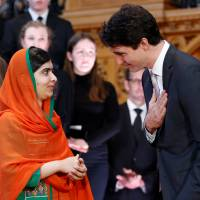 Malala Yousafzai becomes only sixth to receive honorary Canadian citizenship