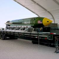 U.S. 'mother of all bombs' owes origins to anti-Nazi weapons