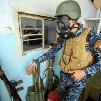 Islamic State believed using chemical weapons on troops in Mosul