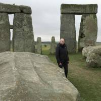 Rupert Till, a music technologist from the University of  Huddersfield, has co-developed an app that lets people hear how Stonehenge originally sounded. | REUTERS