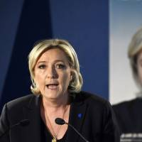 Trump says Paris attack will help Le Pen in election