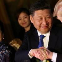 Harder on Russia and softer on China, Trump's views evolving