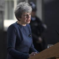 British PM May calls for early election to strengthen Brexit hand