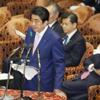 Abe urges diplomatic tack on North Korea, but rules out 'dialogue for dialogue's sake'