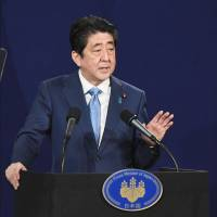Abe says no to resuming six-party denuclearization talks with North Korea