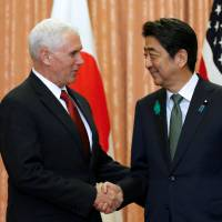 Visiting Pence calls U.S.-Japan alliance a 'cornerstone' for peace in region amid North Korea threat
