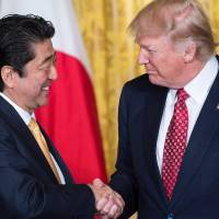 Abe and Trump agree to close coordination on North Korea nuclear issue