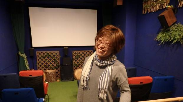 Tokyo movie house caters to the visually impaired, and everyone else