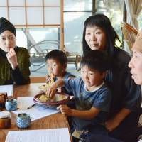 Mothers who fled to the Itoshima, Fukuoka Prefecture, to escape radiation spewed by the March 2011 core meltdowns in Fukushima Prefecture say they are concerned about the safety of the Genkai nuclear plant in neighboring Saga Prefecture. | KYODO