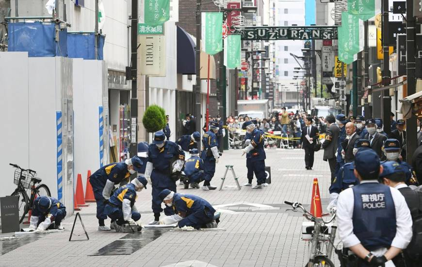 Muggers in Ginza make off with ¥40 million in another brazen daylight robbery