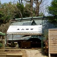 Kiyama Shrine, known as the 'protective god' of the town of Mashiki, Kumamoto Prefecture, has yet to be restored after it collapsed in last year's earthquakes. | DAISUKE KIKUCHI