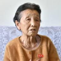 Japanese woman living in North Korea voices wish to visit parents' grave