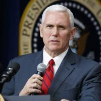 Pence unlikely to raise issues on specific industries at Japan-U.S. economic talks