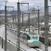 Hokkaido Railway Co. continues to face safety challenges on its Hokkaido Shinkansen Line a year after it went into service. | KYODO