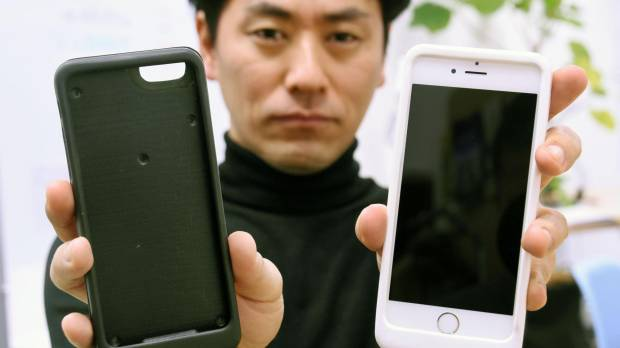 Japan venture develops case to curb kids' smartphone addiction