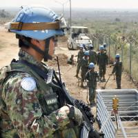 Abe will have a tough time getting bigger peacekeeping roles for Japan on U.N. missions