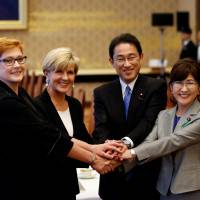 Japan and Australia move to bolster defense ties in Asia