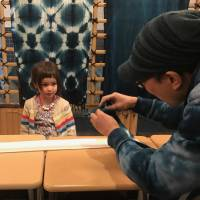 Japan's traditional blues for bright and cheery kids