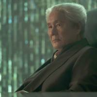 Online boss: 'Beat' Takeshi Kitano plays Aramaki in 'Ghost in the Shell.' | ©2017 Paramount Pictures. All Rights Reserved.