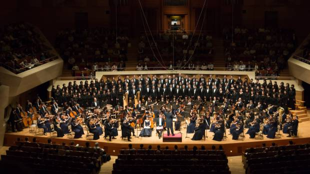 The amateur members of Tokyo Symphony Chorus perform like true professionals