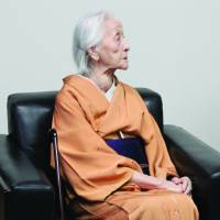 Fantastic gift:  Artist Toko Shinoda celebrated her 104th birthday having achieved a historic feat — she is the only living Japanese to have her portrait on a stamp. | KIYO FUKUDA