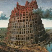 Pieter Bruegel I's 'The Tower of Babel' (c.1526/1530 — Brussels 1569) | MUSEUM BVB, ROTTERDAM, THE NETHERLANDS