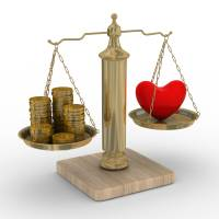 Looking for balance: According to sociologist Masahiro Yamada, for a potential husband's income is often an important factor for women considering marriage. | ISTOCK