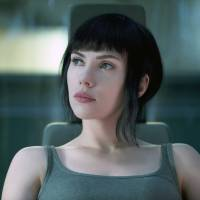 Stream of consciousness: Scarlett Johansson appears in a scene from 'Ghost in the Shell.'  | Paramount Pictures and DreamWorks Pictures / via AP