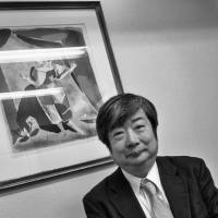 In his corner: Lawyer Yuichi Kaido is cautiously confident about Ikeda's chances in court against Tepco. 'It has been proven that the probable cause (radiation) is clearly far beyond the 51 percent probability normally required in these kinds of civil cases,' he says. | ROB GILHOOLY