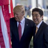 Abe's Trumpian opportunity