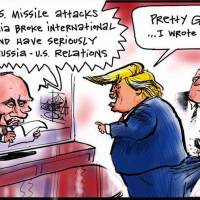 Trump more believable and moral than Putin?