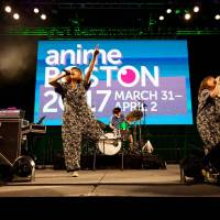 A route to the West: Puffy AmiYumi performs at Anime Boston, which ran from March 31 to April 2. The duo say they've noticed a deepening connection between Japan's anime and music fandoms. | MAYUMI ISHIDA