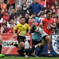 Sunwolves rally for first victory of Super Rugby season