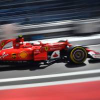 Raikkonen fastest in opening practice for Russian Grand Prix