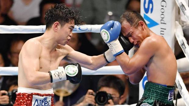 Ioka ties Gushiken's record with 14th career title-fight win